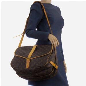 🍀BEAUTIFUL🍀Louis Vuitton Saumur 35